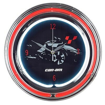 Can-Am On-Road Neon Clock - B103710000