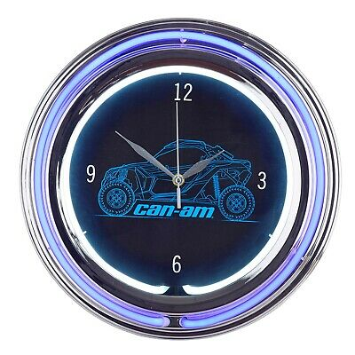 Can-Am Off-Road Neon Clock - B103700000