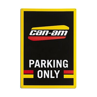 """Can-Am Off-Road Heritage Parking Only Sign 20"""" By - B100100000"""