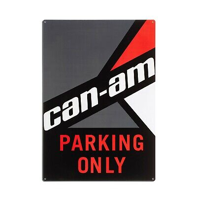 """Can-Am Parking Only Sign 20"""" X 14"""" - B100060000"""