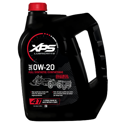 Ski-Doo 1 Us Gallon (3,785 L) 4T Ow-20 Extreme Cold Synthetic Oil - 779146