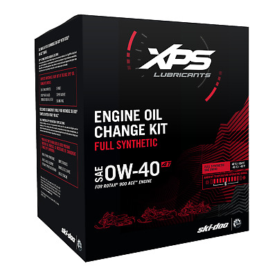 Ski-Doo 4T Ow-40 Synthetic Oil Change Kit For Rotax 900 Engine - 779254