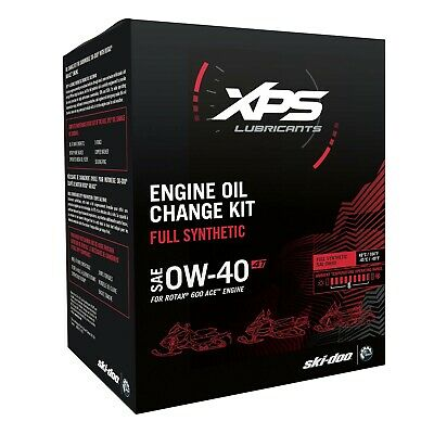 Ski-Doo 4T Ow-40 Synthetic Oil Change Kit For Rotax 600 Engine - 779253