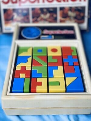 SUPERFECTION Board Game 1978 Complete & Works! RARE! Lakeside Vintage Perfection