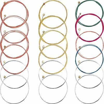 Set of 6 Steel Replacement Guitar Strings Patrs for Acoustic Classical Guitars