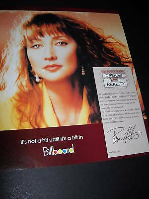 PAM TILLIS turns her Dreams Into Reality 1993 PROMO POSTER AD