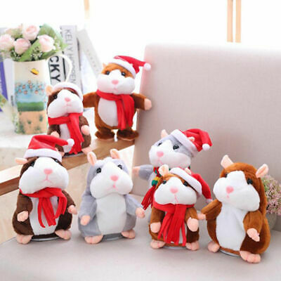 Gift Cheeky Hamster Talking Mouse Pet Christmas Toy Speak Sound Record Hamster