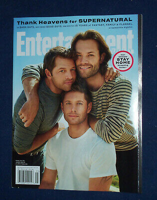 SUPERNATURAL 15 YEARS THANK HEAVENS Entertainment Weekly May 2020 No Mail Label