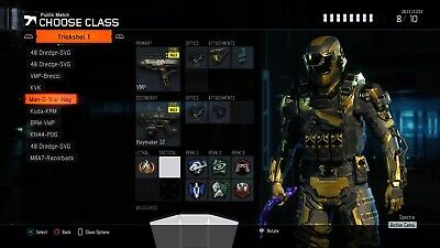 BO3 Modded Account PS4 Level 1000 Zombies and Multiplayer