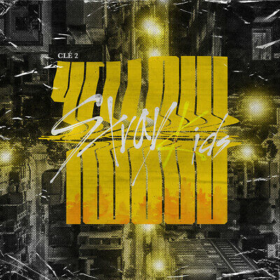 STRAY KIDS - Clé 2:Yellow Wood [Clé 2+Yellow Wood ver.SET] 2CD+Gift+Tracking no.