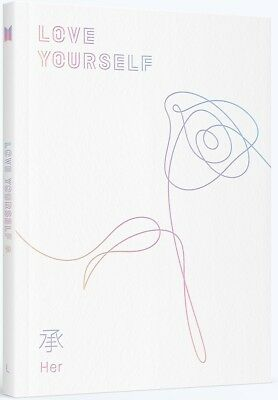 BTS - LOVE YOURSELF 承 [Her] [L ver.] CD+Photobook+Photocard+Poster+Free Gift