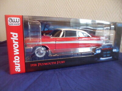 Plymouth  Fury  Christine  Au 1/18 Eme