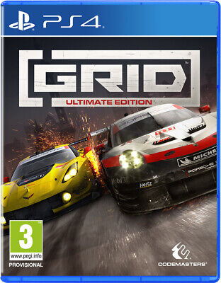 GRID Ultimate Edition (PS4)  BRAND NEW AND SEALED - IN STOCK - QUICK DISPATCH