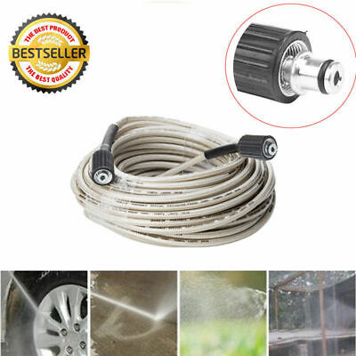 High Pressure Washer Water Cleaning Hose for Karcher 7m/15m 2320PSI M22 UK New