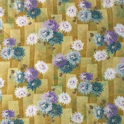 BEAUTIFUL ANTIQUE/VINTAGE FRENCH COTTON c1930s CHRYSANTHEMUMS 41