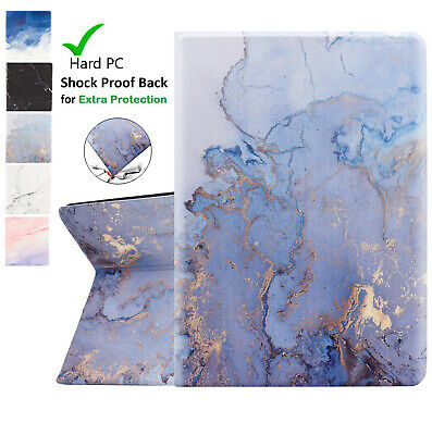 UK Cool Marble Case Smart Flip Cover for iPad 5th 6th 9.7 7th 10.2 Air Mini 2019