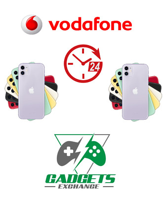 Unlock Code Service For Vodafone Apple Iphone 8 7 6S 6 5 5S 4S Se Plus Vodafone