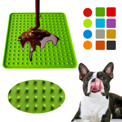 Pet Lick Food Mat for Dogs Cats Licky Slow Feeder Cat Dog Feeding Licki Mats