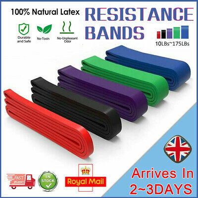 Resistance Bands Assisted Pull Up Band Power Lifting Fitness Exercise Band Yoga