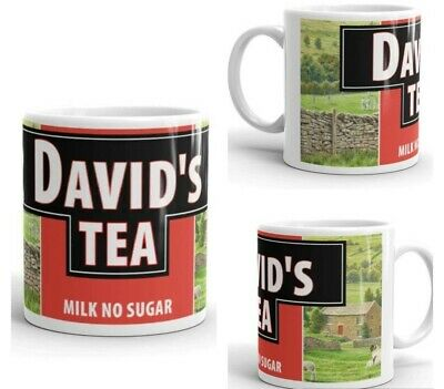 PERSONALISED Yorkshire Tea style Cup Mug NEW ANY NAME