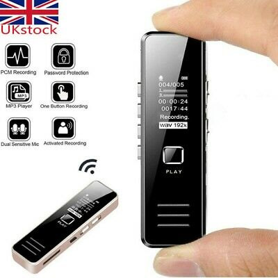 32GB USB Rechargeable Digital Audio/Sound/Voice Recorder Dictaphone MP3 Player