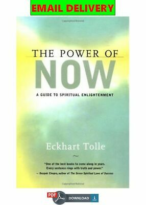 The Power of Now: A Guide to Spiritual Enlightenment ᴇʙᴏoᴋ