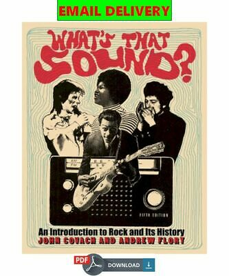 What�s that sound?: an introduction to rock and its history ᴇʙᴏoᴋ