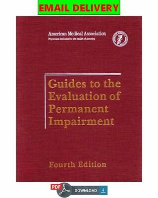 Guides To The Evaluation Of Permanent Impairment ᴇʙᴏoᴋ