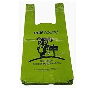 EcoHound ECO Dog Poo Bags OXO- Biodegradable LARGE Dog Waste Bags - VALUE PACKS