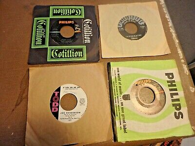 GG- bundle of 16 vintage 45 RPM records from the 50's 60's & 70'S
