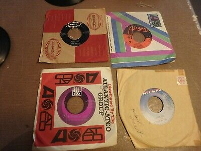 GG- bundle of 15 vintage 45 RPM records from the 50's 60's & 70'- some sleeves