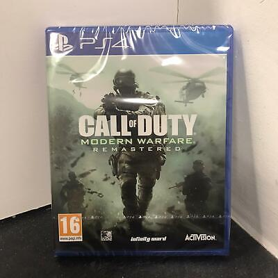 Call of Duty Modern Warfare Remastered PS4 Game - New & Sealed