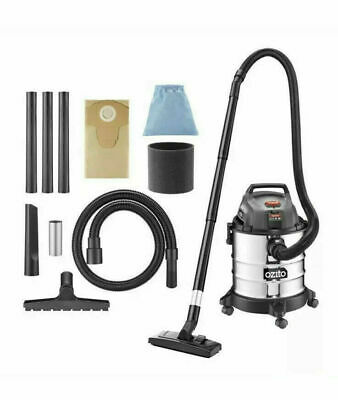Ozito Wet & Dry Vacuum Stainless Steel 1250W 20L