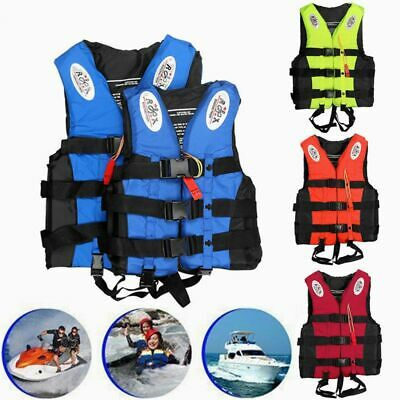 High Visibility Life Jackets for the Whole Family Swimming Suit  3 Colors S-XXL