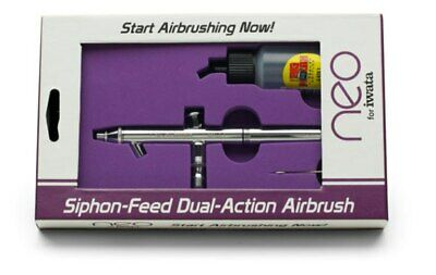 Iwata Neo Airbrush - BCN, Suction Siphon Feed, Dual Action -  0.5mm Needle