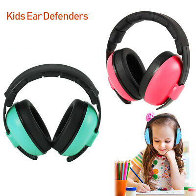 Noise Cancelling Ear Defenders Muffs Hearing Protector 3 Layers Baby Kids Gift