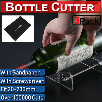 Perfect Wine Beer Glass Bottle Cutting Tool Recycle Kit DIY Craft Cutter Machine
