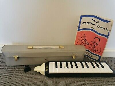 Piano 26 Vintage Hohner Melodica Made In Germany In Case