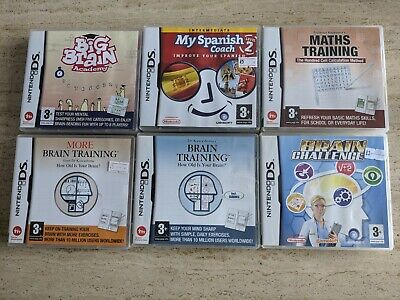 Nintendo DS Game Bundle 6 x Boxed Games. TESTED & WORKING. FREE UK POSTAGE.