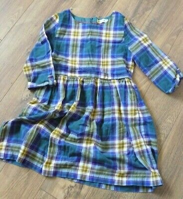 Boden Johnnie B Girls Tartan Plaid Check Dress Age 11-12