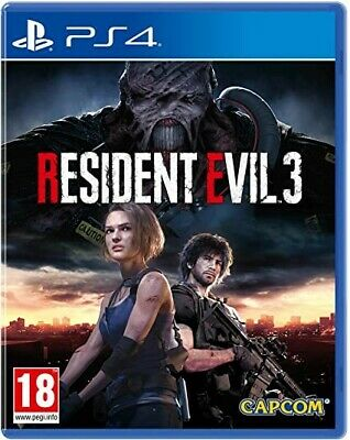 Resident Evil 3 Remake Digitale Ps4 ☝️Primario 36€ ✌️Secondario 26€