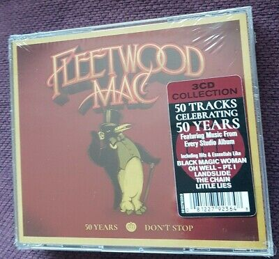 Fleetwood Mac  50 Years  Dont Stop Rare  3Xcd Album  Brand  New+Sealed   Look!!!