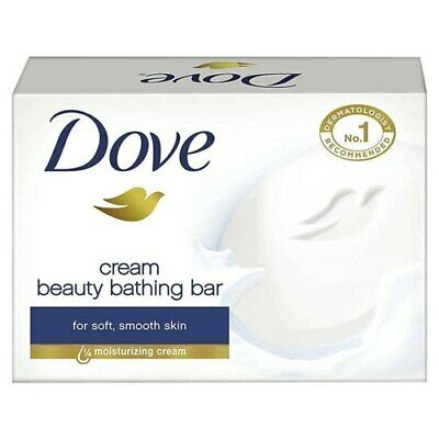 Dove Beauty Bar Soap White 12 bars ,3.5 oz ( 100 g each)