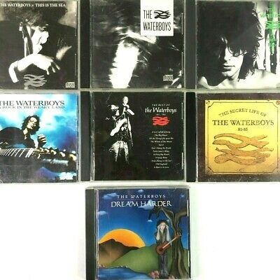 The Waterboys 8 CD Bundle Best Secret Life Dream Weary Land This Sea Pagan Place