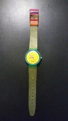 vintage swatch coke watch with new battery