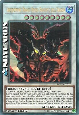 ARCIDEMONE DRAGO ROSSO ROVENTE DELL'ABISSO • Ultra R • DUPO IT057 • Yugioh!
