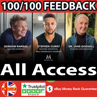 MasterClass (3 Years All Access Account) (Fast Delivery) Premium Subscription