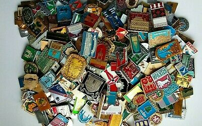 LOT 30 pieces. Badge Pins Soviet CITIES AND MONUMENTS OF THE USSR