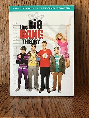 The Big Bang Theory: The Complete Second Season (DVD 4 Disc Set)