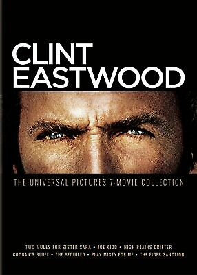 Clint Eastwood: The Universal 7-Movie Collection - DVD Movie Set [NTSC] NEW